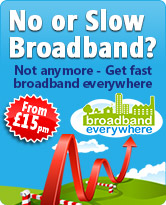 Broadband Everywhere - Satellite Broadband