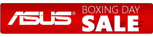 Asus Boxing Day Sale